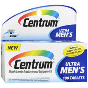 Centrum Ultra Men's Mutivitamin/Multimineral Supplement