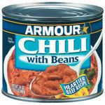 Armour Star Chili w/ Beans (15 oz.)