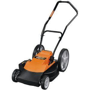"Black & Decker 18"" Cordless Mulching Mower"