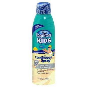 Coppertone Kids Continuous Spray Sunscreen SPF 70
