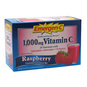 Emergen-C 1000mg Vitamin C Raspberry
