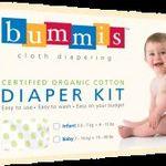 Bummis Organic Cotton Diapering Kit Diapers