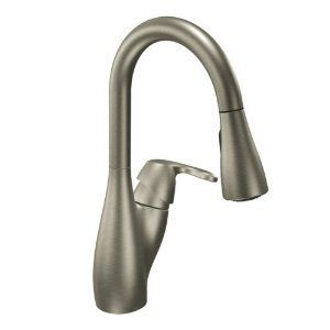 Moen Medora Classic Stainless One-Handle High Arc Pulldown Kitchen Faucet