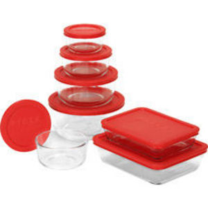 Pyrex Cooking Solved Glass Storage 14 pc.