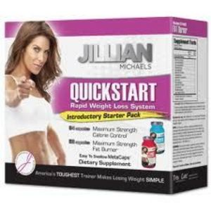 Jillian Michaels Quickstart Rapid Weight Loss System