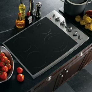 GE Profile Electric Cooktop