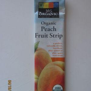 365 Organic Everyday Value - Organic Peach Fruit Strip