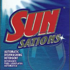 Sunsations Dishwasher Detergent