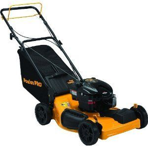 Poulan Pro PRT22RP 22-inch 190cc Briggs & Stratton 625 Series Gas Powered Side Discharge/Mulch/Bag FWD Self Propelled Lawn Mower