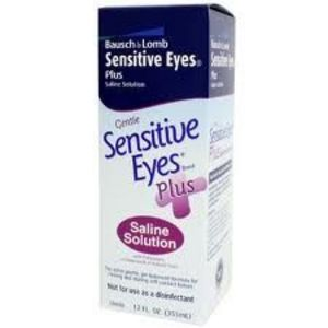 Bausch + Lomb Sensitive Eyes Plus Saline Solution