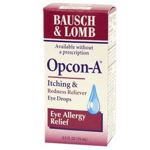 Bausch + Lomb Opcon-A Eye Allergy Relief