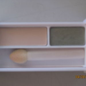Clinique Colour Surge Eyeshadow Duo - Sparkling Sage/French Vanilla