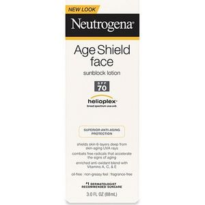 Neutrogena Age Shield Face Sunblock Lotion SPF 70