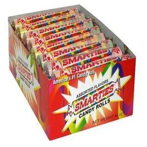 Smarties Mega Candy Rolls 24 pk.