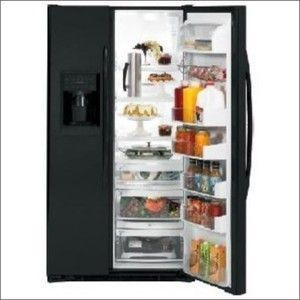 GE PSDF5RGXBB (24.6 cu. ft.) Side by Side Refrigerator