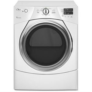 Whirlpool Duet 6 7 Cu Ft Electric Dryer Wed9250ww