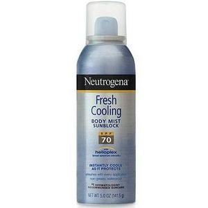 Neutrogena Fresh Cooling Body Mist Sunblock SPF 70