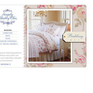 Simply Shabby Chic Rosebloom Sheets