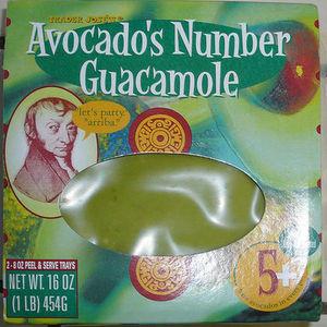 Trader Jose's Avocado's Number Guacamole