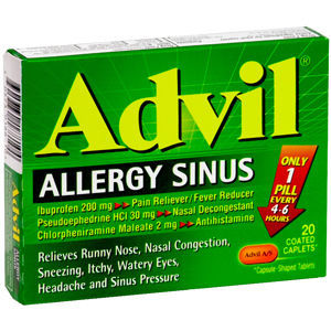 Advil Allergy Sinus Coated Caplets