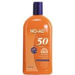 NO-AD Sport SPF 50 Sunblock Lotion