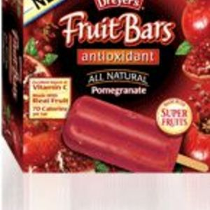 Edy's Fruit Bars All Natural Pomegranate AntiOxidant