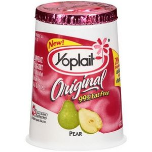 Yoplait Original Pear Yogurt