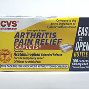CVS Acetaminophen Arthrits Pain