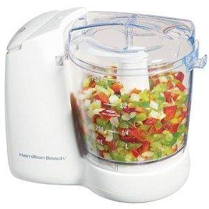 Hamilton Beach Food Chopper 1.5-Cup Food Processor