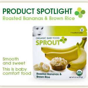 Sprout Organic Baby Food - Roasted Bananas