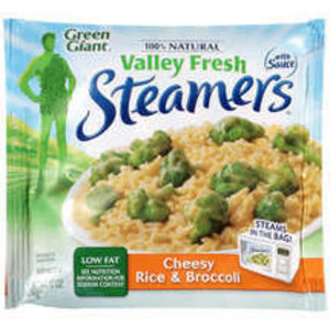 Green Giant Valley Fresh Steamers Cheesy Rice Broccoli