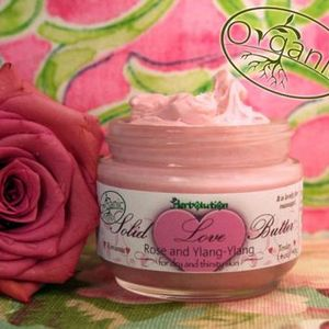 Herbolution Organic Solid Love Massage and Body Butter