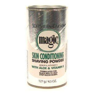 SoftSheen-Carson Magic Skin Conditioning Shaving Powder 4.5oz Regular Depilatory