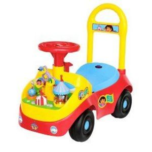 Fisher Price Dora S Busy Carnival Activity Ride On
