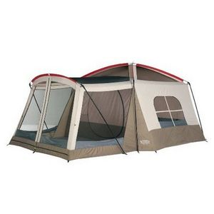 Wenzel Wenzel Klondike 16 X 11-Feet Eight-Person Family Cabin Dome Tent