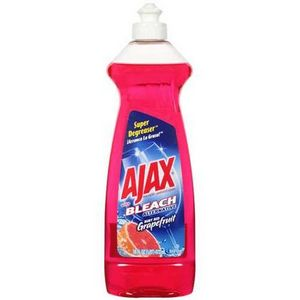 Ajax Dish Liquid with Bleach Alternative, Ruby Red Grapefruit