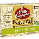 Orville Redenbacher - Natural Lime & Salt Microwave Popcorn
