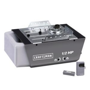 craftsman 12 hp chain drive garage door opener