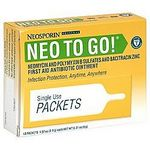 Neosporin Neo to Go Single Use Packets
