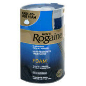 Rogaine Foam Hair Regrowth Treatment 3 Month For Men