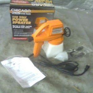 Chicago Electric Paint Spray Gun