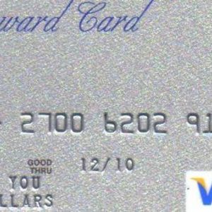 "Visa - ""Thank You"" Reward Card"