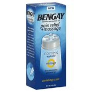 Bengay Pain Relief + Massage Menthol Pain Relieving Gel