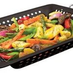 Grill Pro Square Porcelain Coated Grill Top Wok