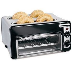 Hamilton Beach Toastation 4-Slice Toaster and Mini Oven