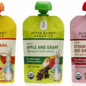 Peter Rabbit Organics Fruit Puree Pouches