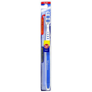 Walgreens Toothbrush with Tongue Scraper