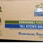 Green Genius Biodegradable Plastic Tall Kitchen Bags