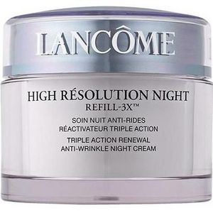 Lancome High Resolution Night Refill-3X Triple Action Renewal Anti-Wrinkle Night Cream