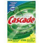 Cascade with Dawn Dishwasher Powder